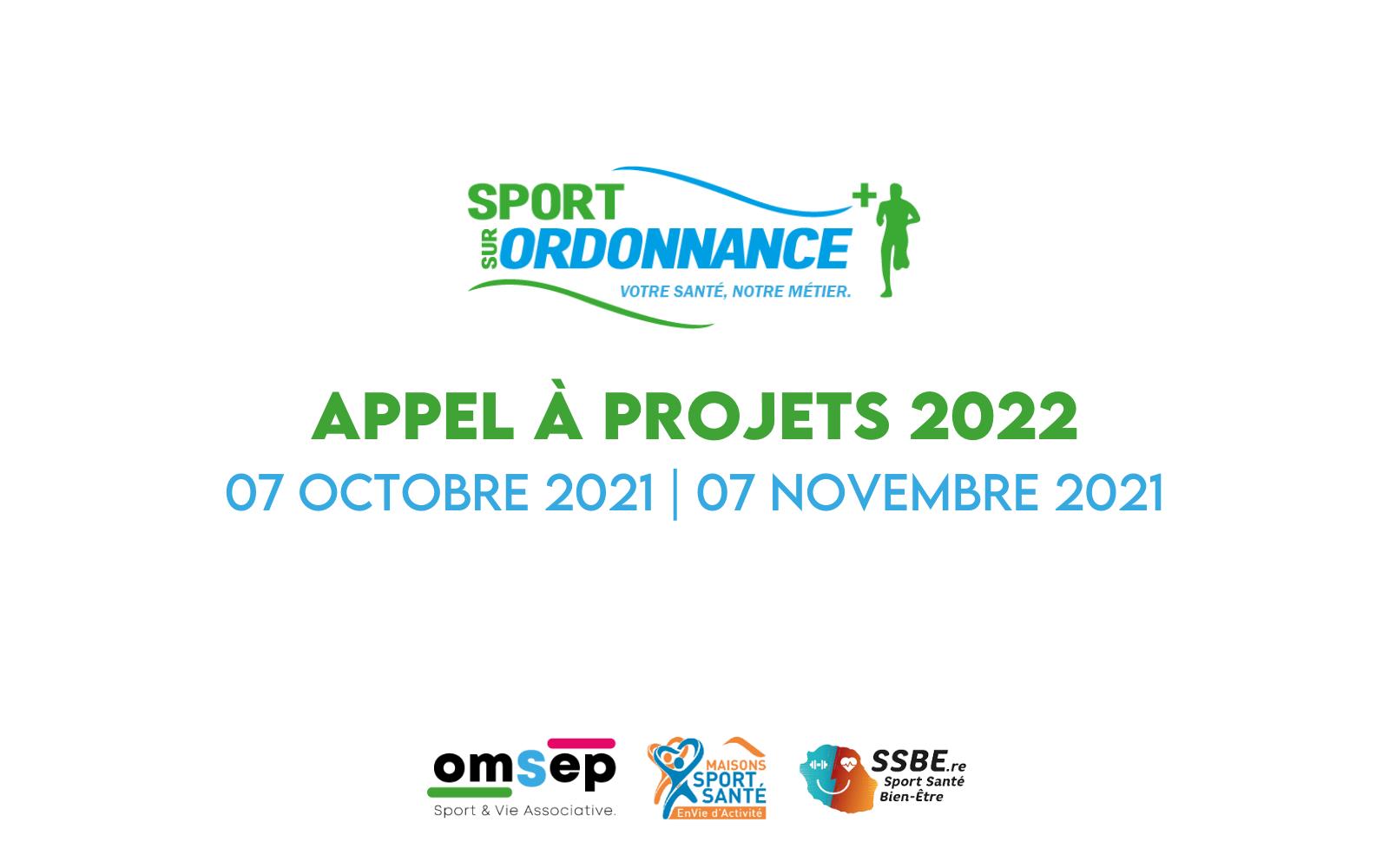 Appel à projets Sport sur Ordonnance 2022